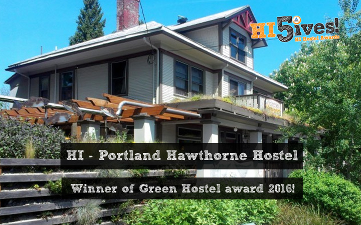 HI - Portland Hawthorne Hostel - Winner of Green Hostel award 2016!