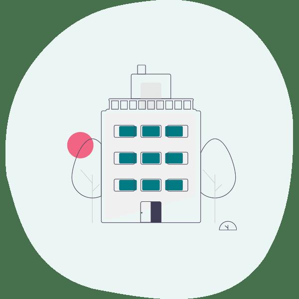 Inhaber von privaten Wohnungen