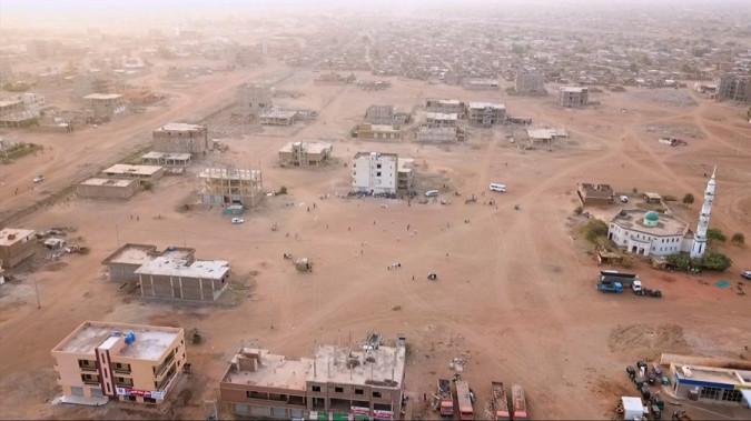 Still from Khartoum Offside