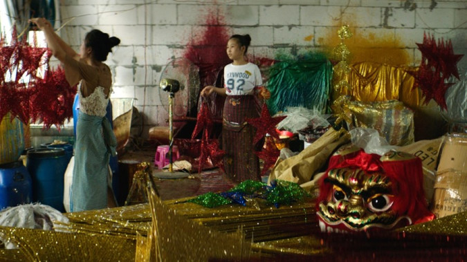 Still from Merry Christmas, Yiwu