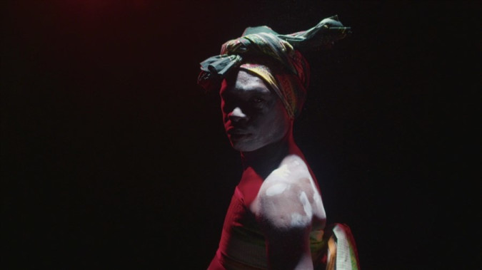 Still from The Sound of Masks
