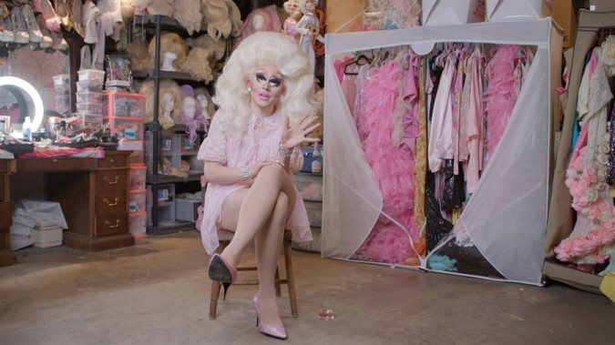 Still from Trixie Mattel: Moving Parts