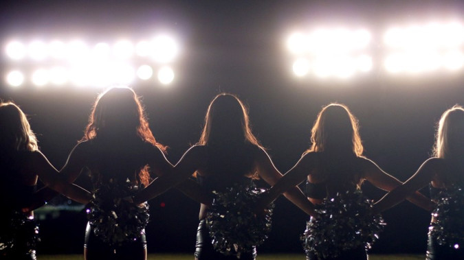 Still from A Woman's Work: The NFL's Cheerleader Problem