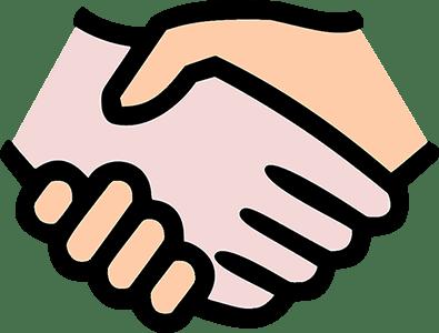 hand shake sm