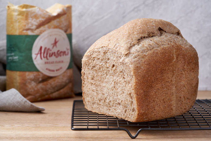 Allinson's 50/50 wholemeal loaf in a bread maker