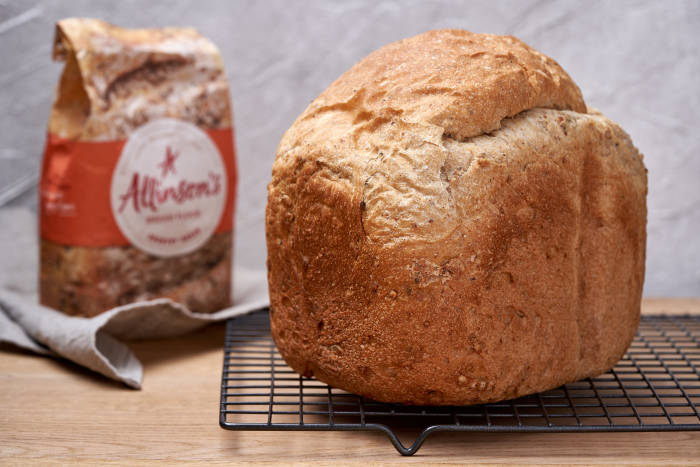 Allinson's Country Grain Bread Flour in a Bread Maker