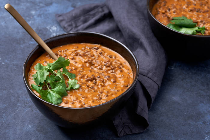 Dishoom's black daal slow cooked in an Instant Pot