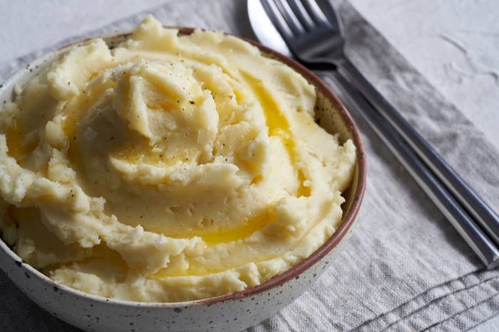 Mashed potato made in an Instant Pot
