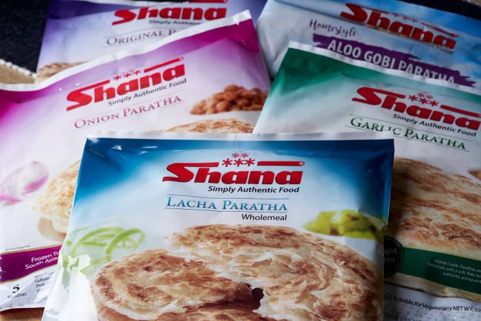 Shana frozen parathas