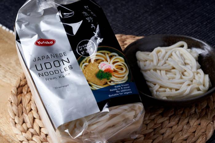 Yutaka frozen udon noodles