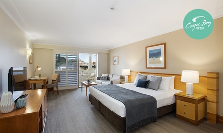 Coogee: 1 or 2 Nights for Two People with Breakfast, Wine and Late Check-Out at Coogee Bay Boutique Hotel