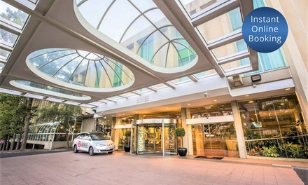 Canberra, ACT: One-Night City Break for Two People with Breakfast Buffet and Bottle of Wine at Rydges Capital Hill Hotel