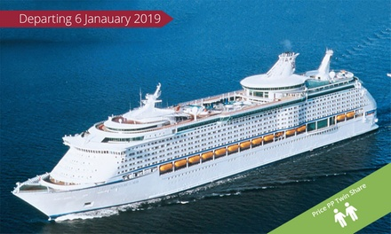 Explorer of the Seas: From $1,439 Per Person for a 9-Night Cruise to the South Pacific Islands from Sydney on 6 Jan 2019