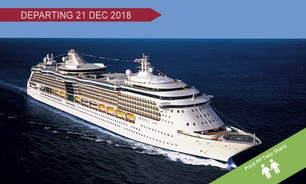 Radiance of the Seas: $1,829 Per Person for a 12-Night Christmas and New Year's Cruise Departing Sydney on 21 Dec 2018