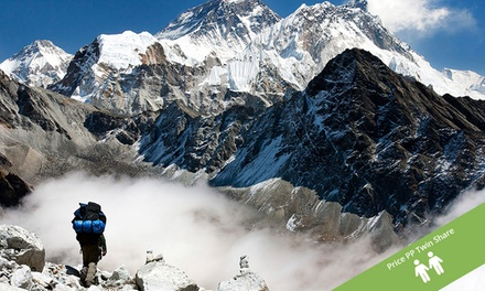 Nepal:  $999 Early Bird offer or $1,149 per person twin share for a 16-day Everest Base Camp trek