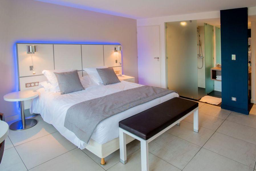Les chambres avec terrasse du Grand Large, hôtel 4 étoiles ...