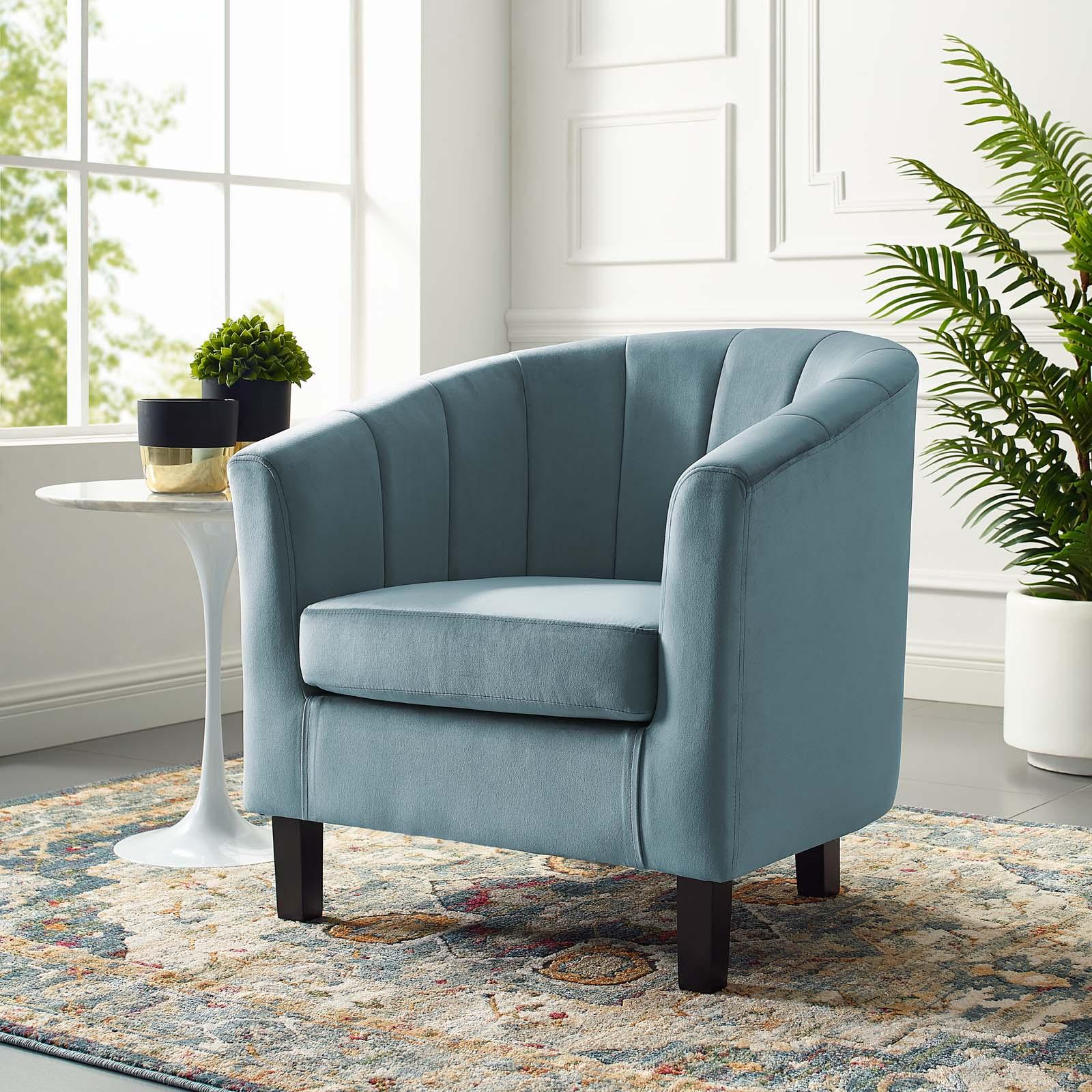modern living lounge tufted armchair accent chair velvet