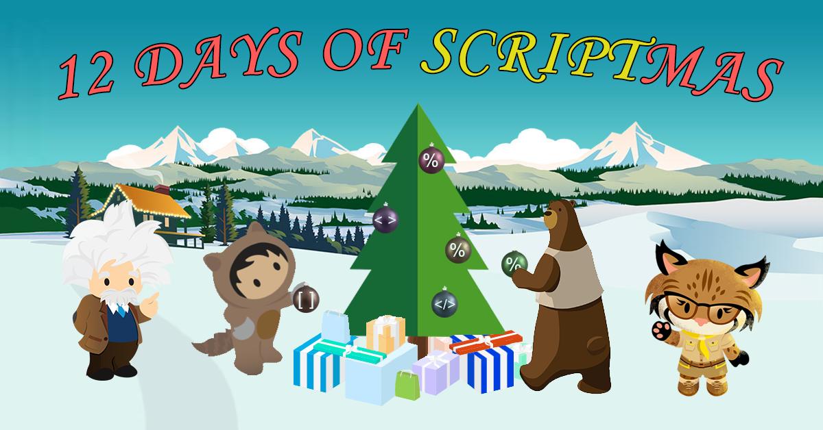 12 DAYS OF SCRIPTMAS