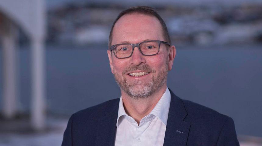 Ordførerkandidat for Høyre i Ålesund, Dag Olav Tennfjord.