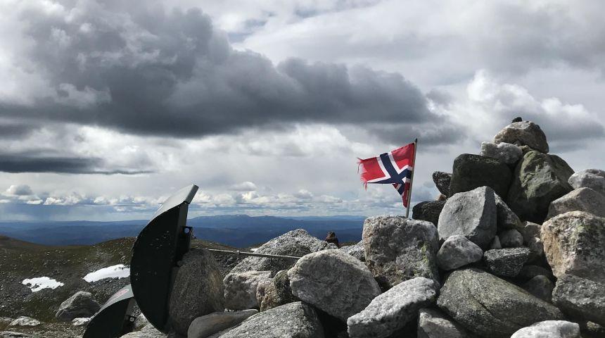 Illustrasjonsfoto. Toppen av Høgevard.