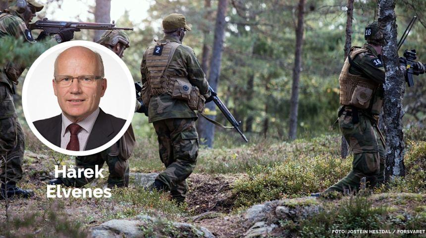 Hårek Elvenes, forsvarspolitisk talsperson i Høyre.