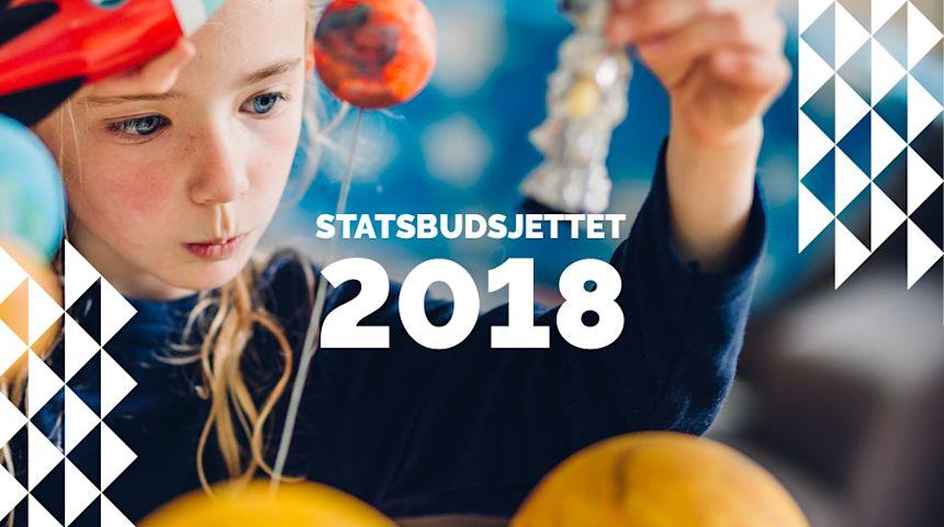 Torsdag kveld kan du få svar på ditt spørsmål om statsbudsjettet 2018. Foto: illustrasjon