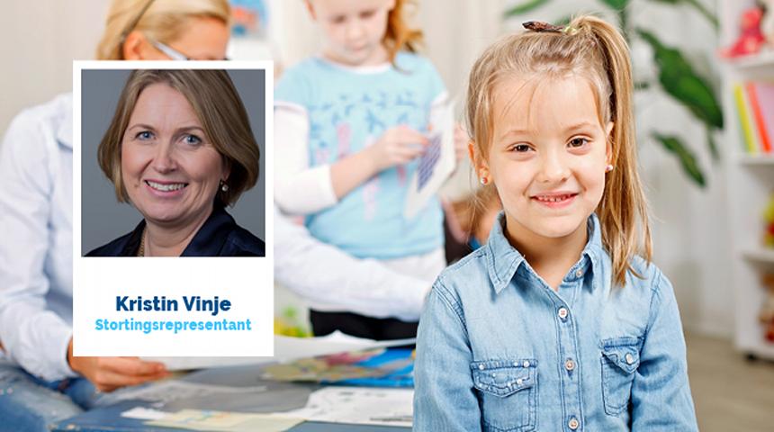- Lærerne må få den videreutdanning de ønsker og har behov for, sier stortingsrepresentant for Høyre Kristin Vinje.