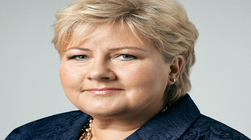 Statsminister Erna Solberg. Foto: Kjell Ruben