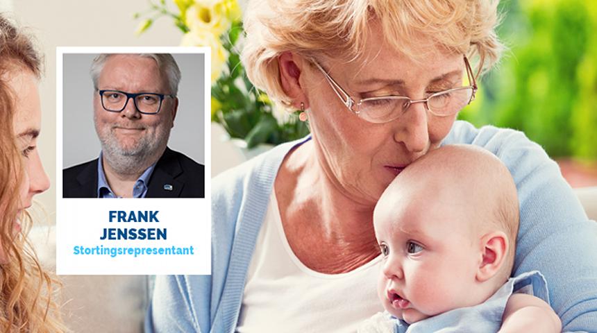 Høyres Frank Jenssen er fornøyd med enighet i kommune- og regionreformen. Foto: Illustrasjonsfoto