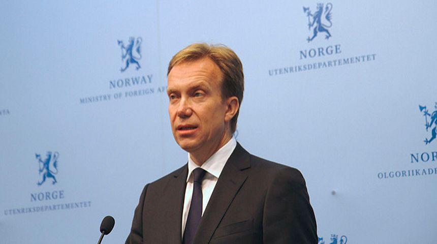 Utenriksminister Børge Brende. Foto: M.B. Haga/UD