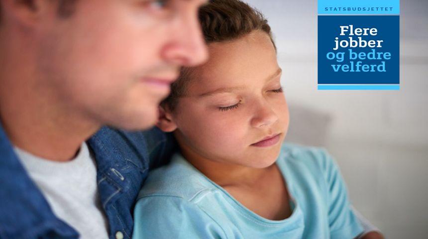 Flere syke barn får ha foreldrene hjemme