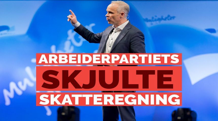 Skjuler Arbeiderpartiet en stor skatteregning for deg, spør nestleder i Høyre Jan Tore Sanner