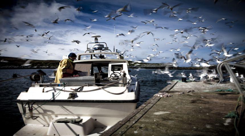 Regjeringen vil ha Norge i førersetet til havs. Foto: gettyimages