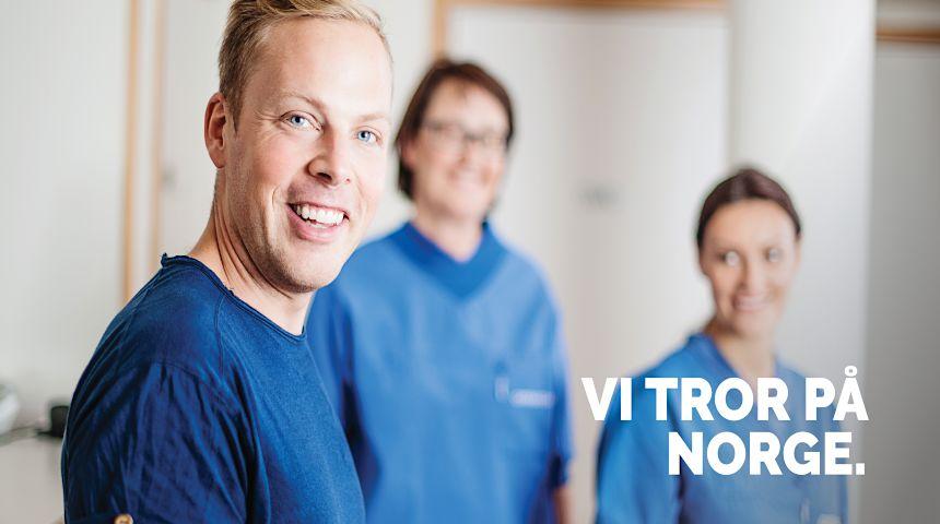 Pasientens helsetjeneste – fordi vi tror på Norge!