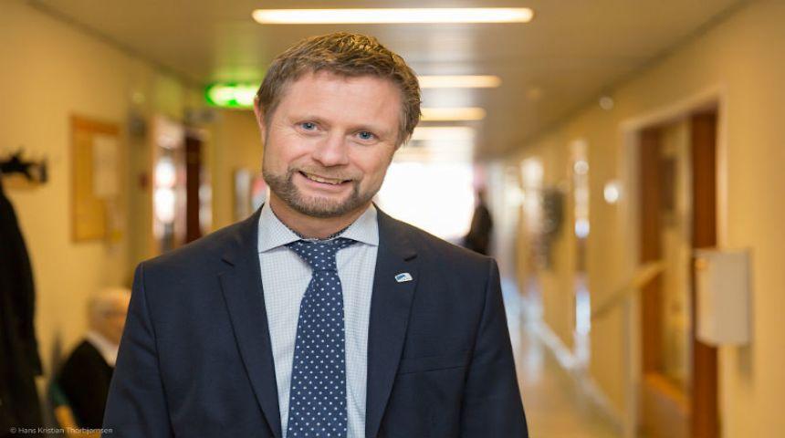Helse- og omsorgsminister Bent Høie. Foto: Hans Kristian Thorbjørnsen