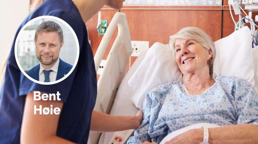 Kortere ventetid ved sykehusene i 2017