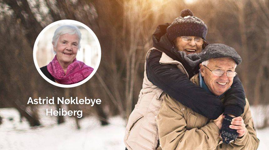Høyre vil at ektepar og samboere skal få leve livet sammen – hele livet. Derfor vil vi at eldre som vil skal få muligheten til å bo sammen, selv når de ikke kan bo hjemme.