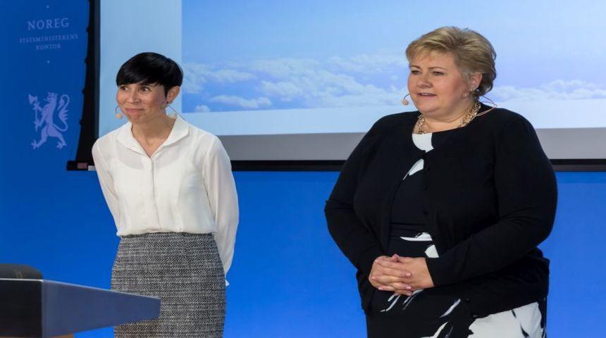 Et stort flertall i Stortinget sluttet seg tirsdag til hovedlinjene i regjeringens forslag til langtidsplan for Forsvaret. Foto: Hans Kristian Thorbjørnsen