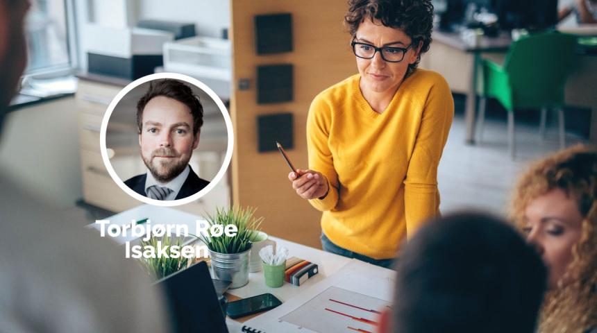Torbjørn Røe Isaksen lover opprydning i virkemiddelapparatet