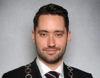 Peder Sjo Slettebø, Ordfører, Kvinnherad