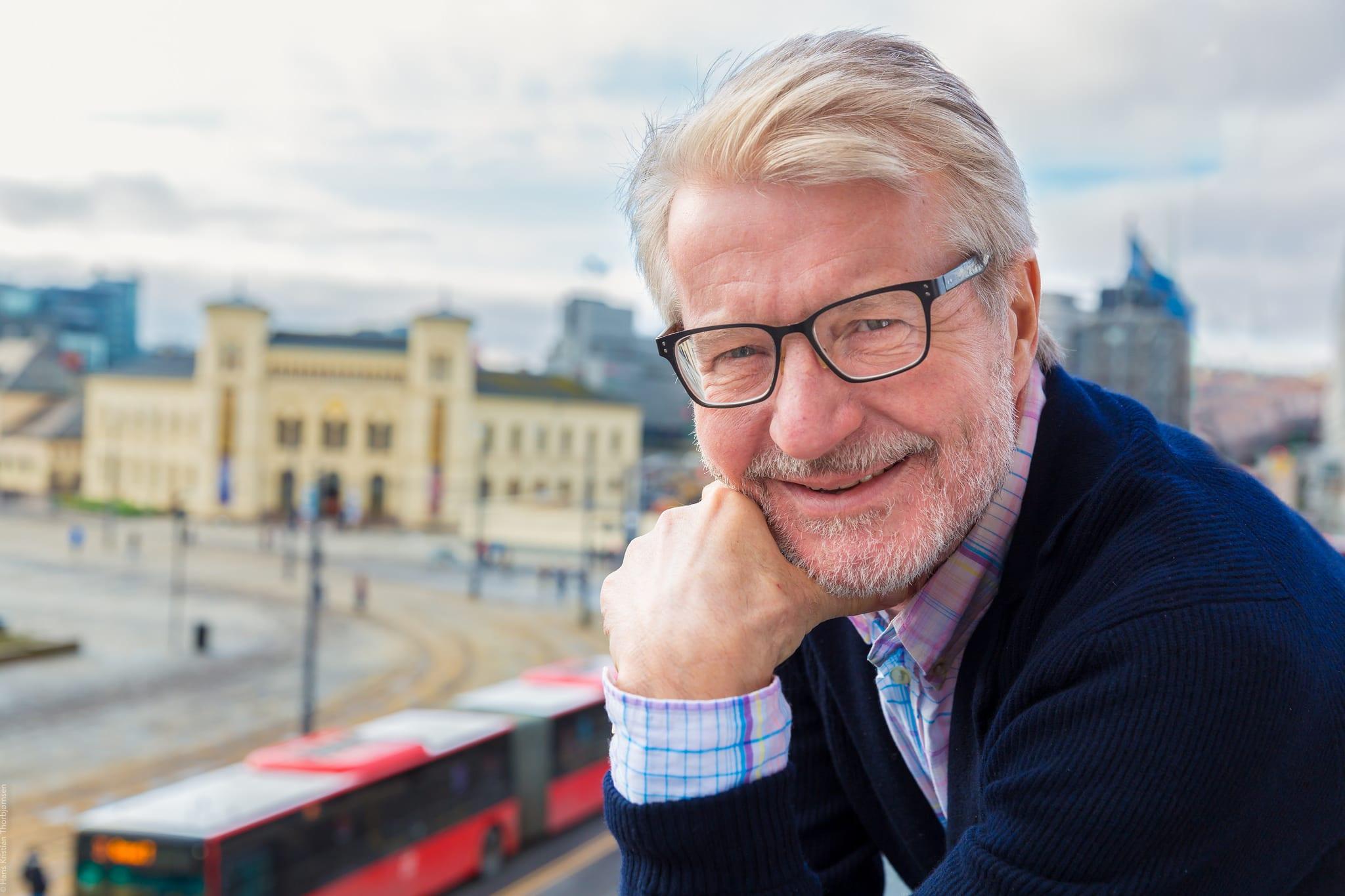 Fabian Stang inn i regjeringen - Høyre