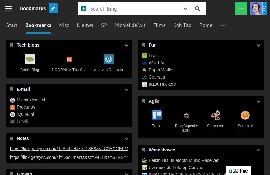 Dark widget theme