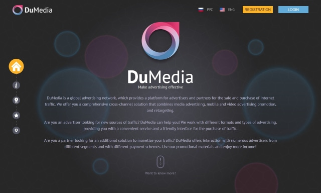DuMedia, if you're serious about monetizing your business website.