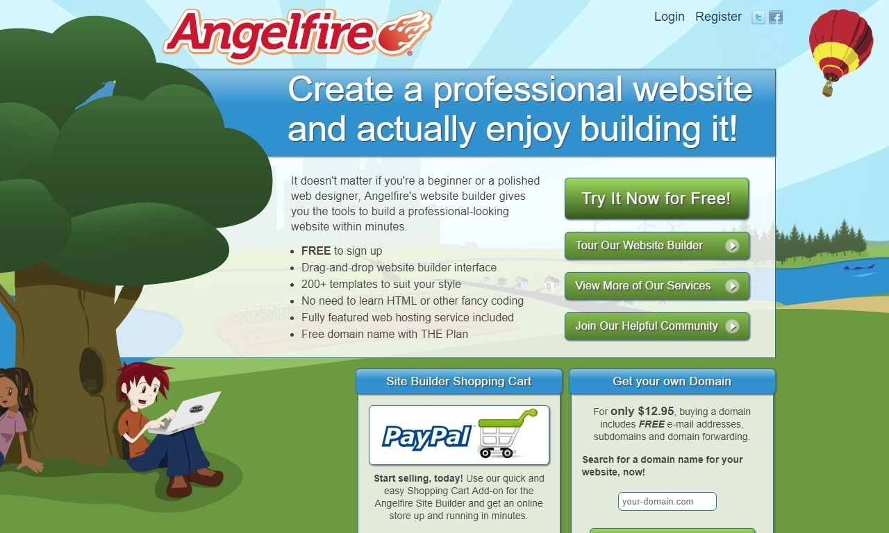 Homepage Angelfire