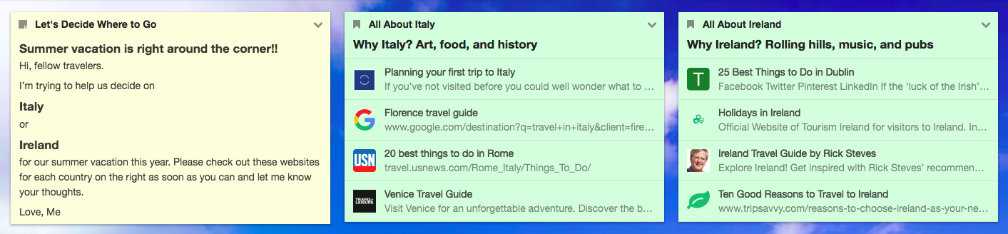How to decide where to go on vacation? First do research!