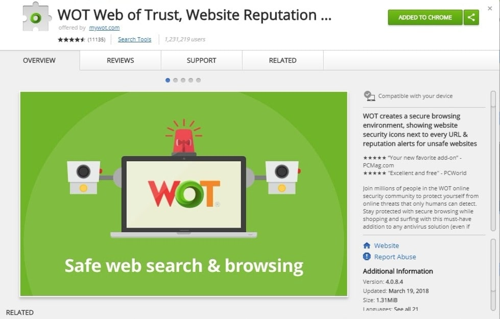 Web of Trust is all about reputation and the wisdom of the crowd.