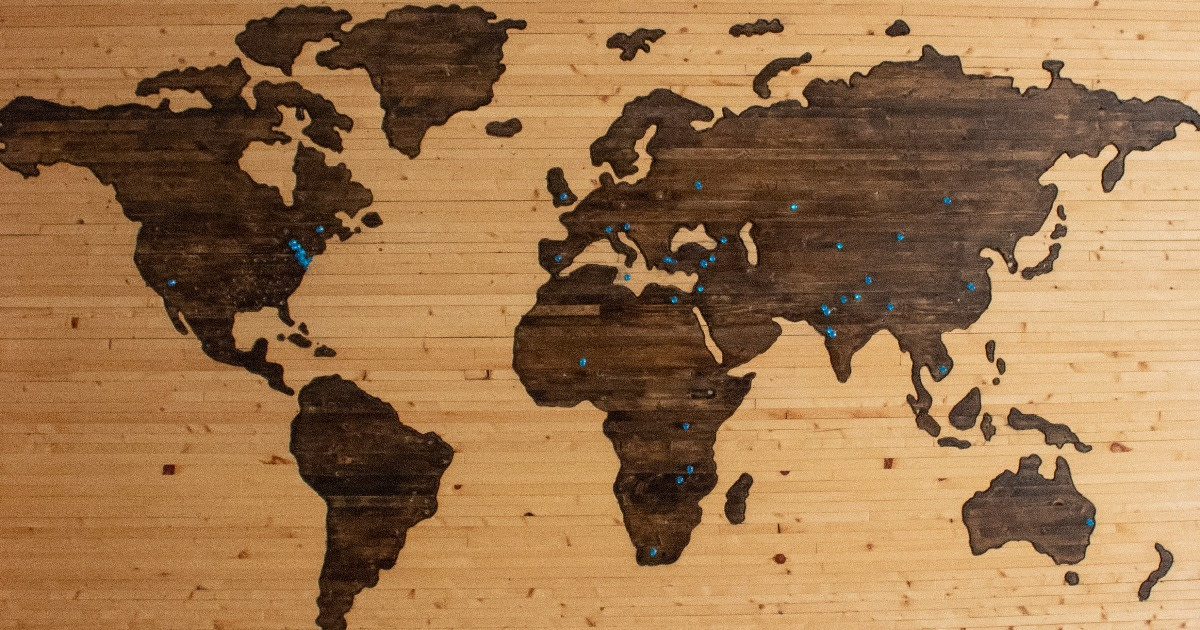 New regions all over the world.