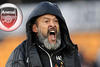 Arsenal make Nuno Espirito Santo job...