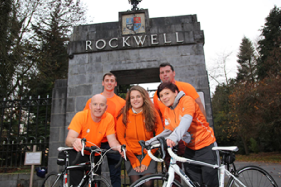 Rockwell the anchor school for 2017 Cycle Against Suicide.