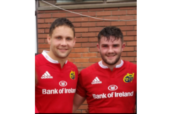 Rockwell College Players Lead Munster A To Win